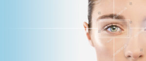Womans eye closeup