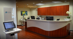 View of Visionary Eye Doctors office in Rockville